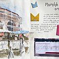 29 avril 2014 : marché sans crayon