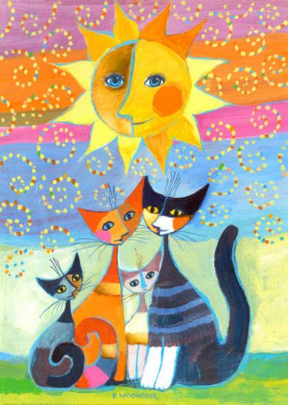 Célèbre Les chats dans la rue - Les cahiers de Joséphine VK12