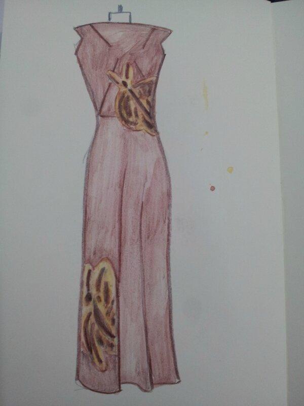 Schiaparelli - robe du soir - 1937