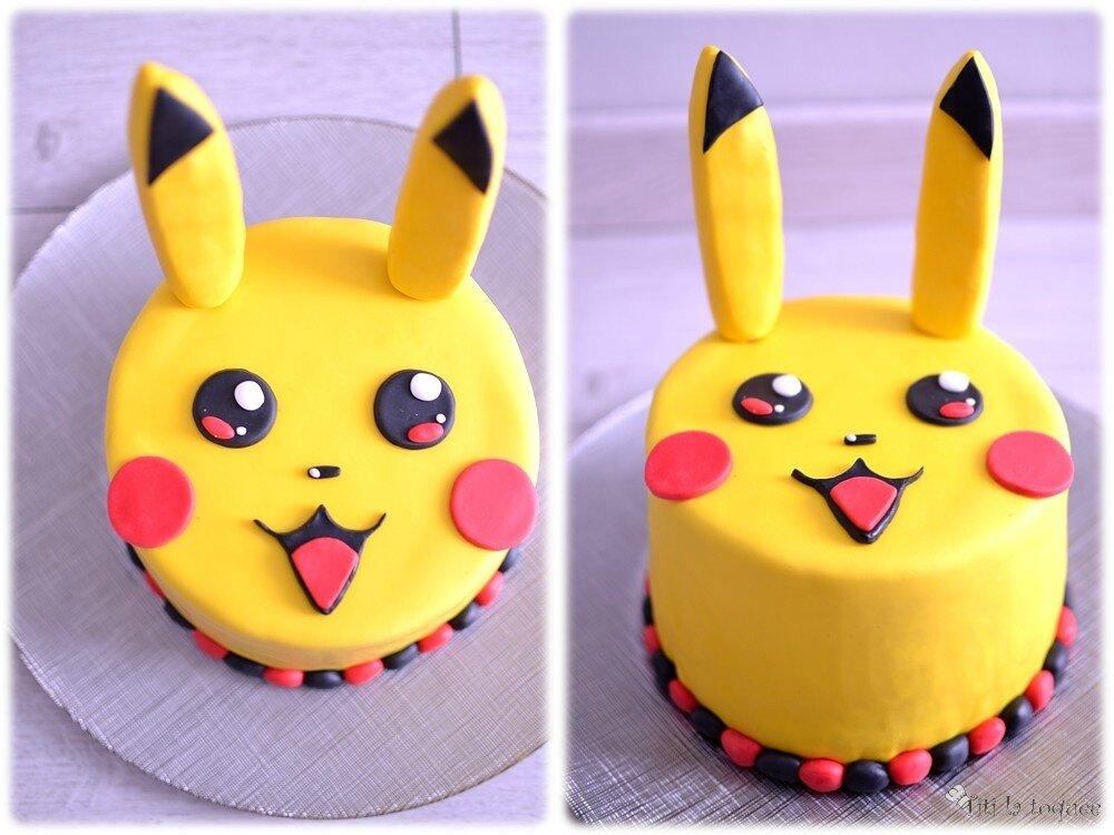 Extrêmement Layer Cake Pikachu (ou gâteau à étages) - Titi la toquée NS66