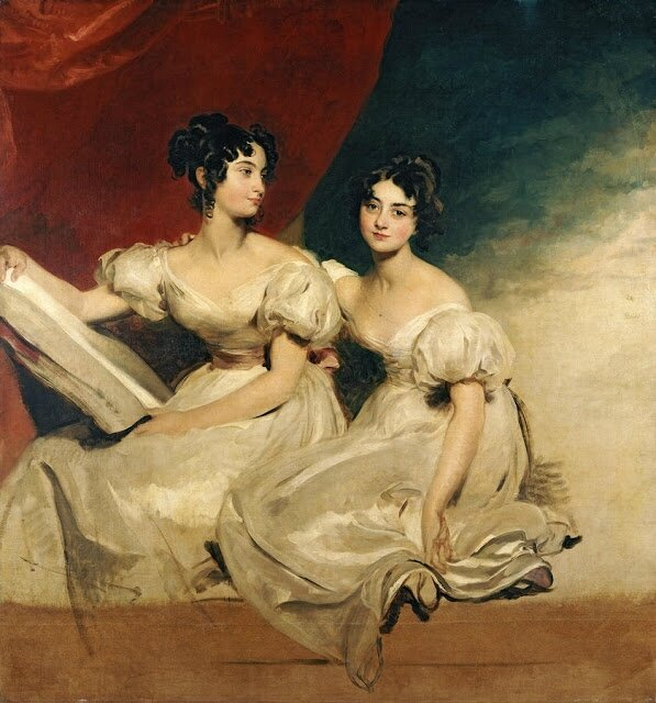 Sir Thomas Lawrence (English painter, 1769-1830) The Fullerton Sisters