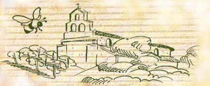 dessin rucher de monataigut