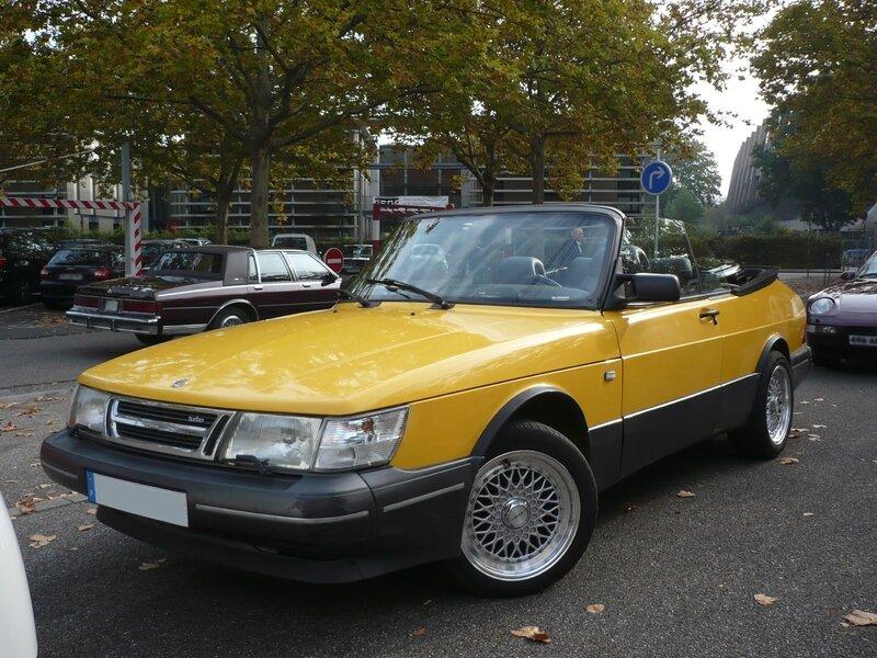 SAAB 900 Turbo cabriolet Strasbourg (1)