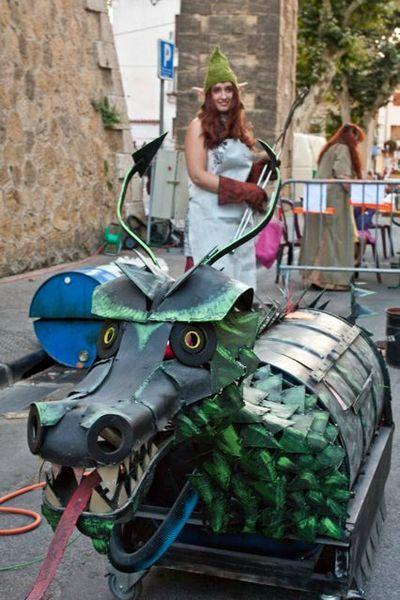 L'elfe dompteuse de dragon