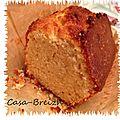 Gâteau au yaourt et à l'huile de coco
