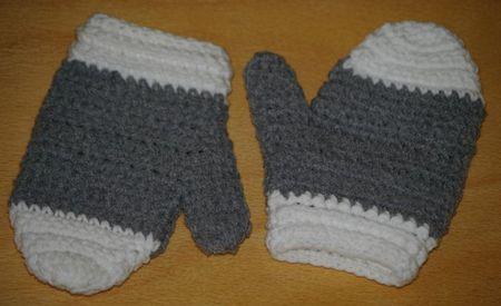 crocheter des moufles