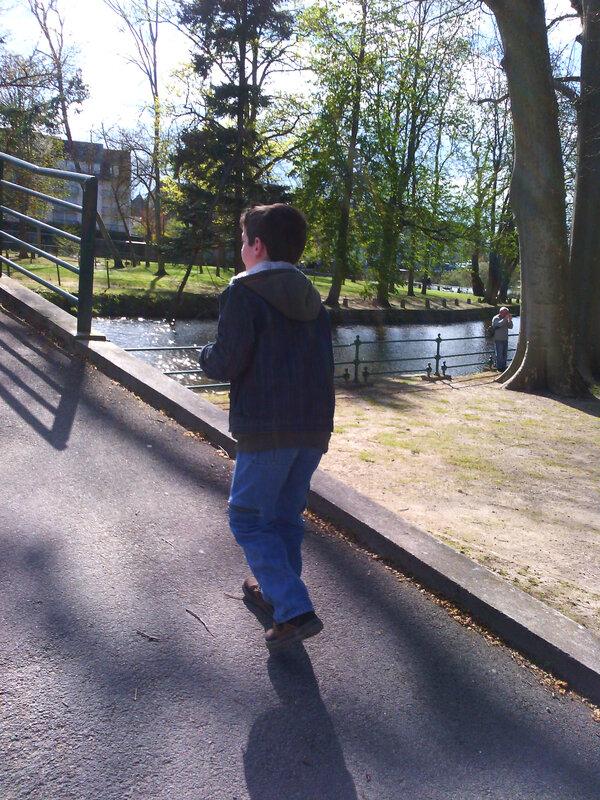 Balade dans le parc de Romorantin