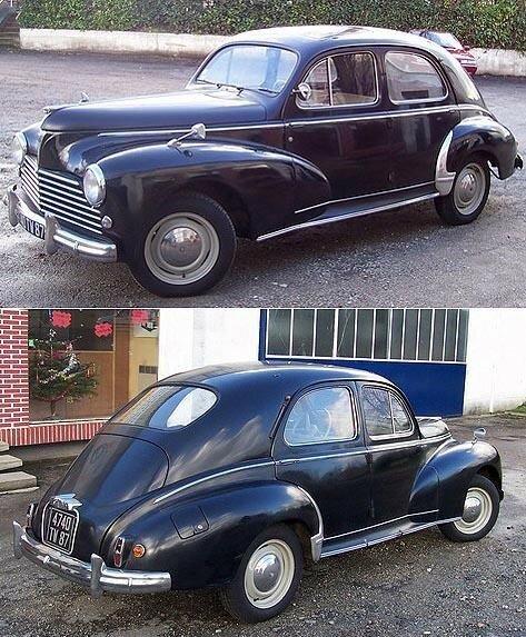 PEUGEOT - 203 C Berline - 1955