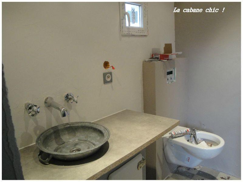 cot salle d 39 eau la cabane chic. Black Bedroom Furniture Sets. Home Design Ideas