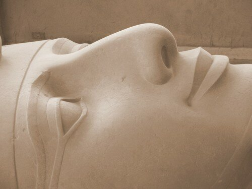 Pretty face of Giant Ramses II