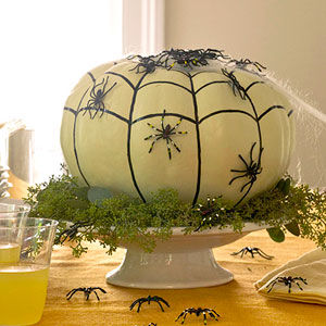 D co de table halloween a faire soi meme - Deco de table halloween a faire soi meme ...