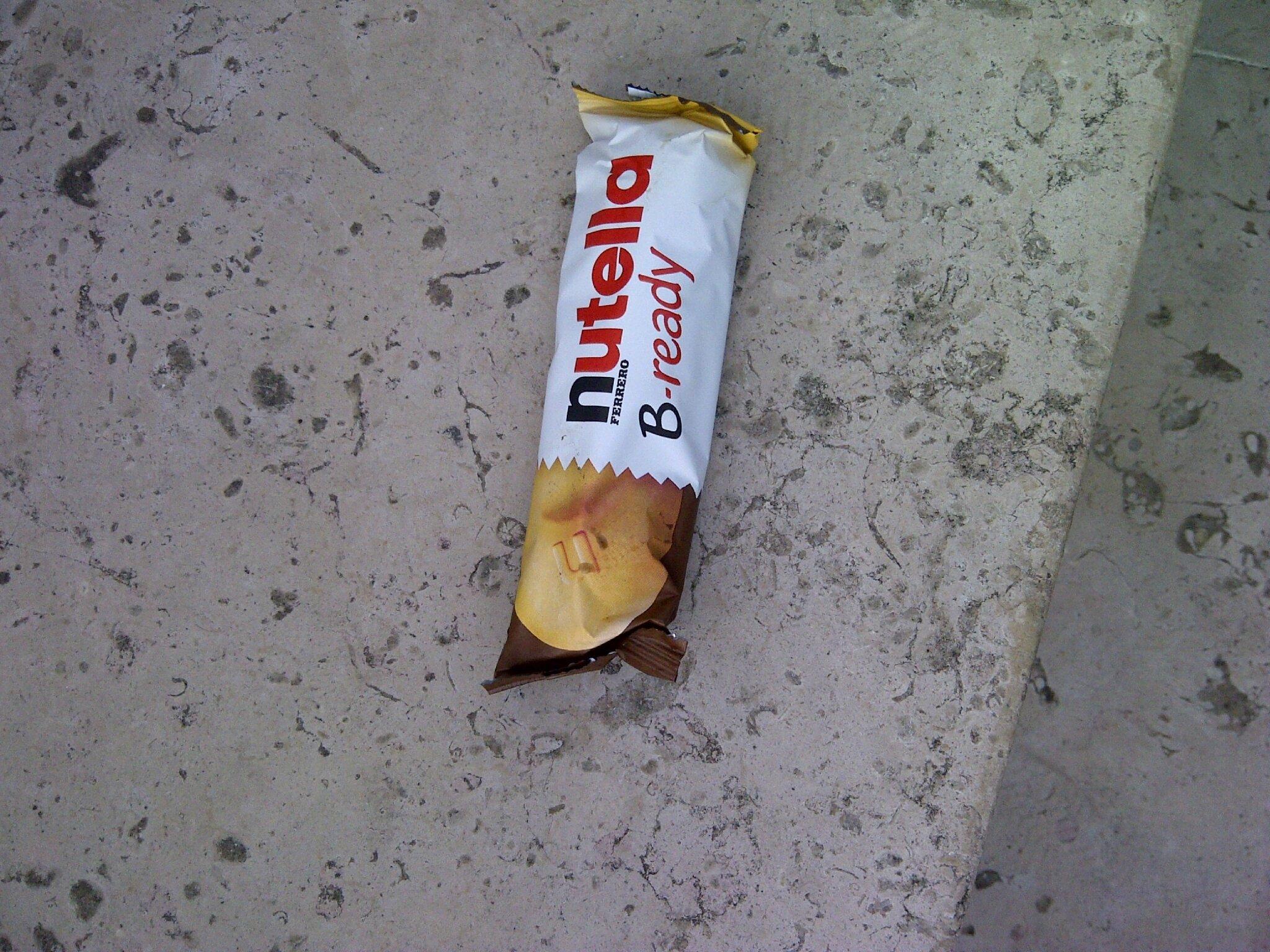 Barre nutella