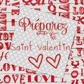 Bientôt la fête des amoureux, des amis, de tous ceux qui s'aiment....