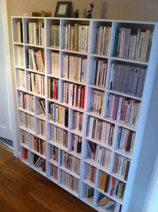 Bibliothèque livres de poche