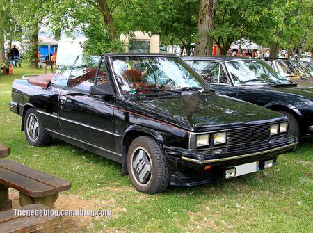Renault alliance cabriolet (1985-1987)(Retro Meus Auto Madine 2012) 01