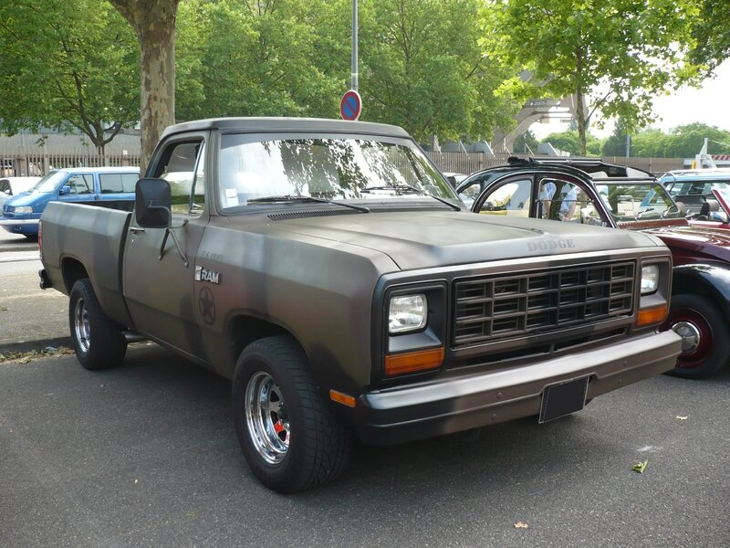 DODGE Ram Custom 2door pick-up Strasbourg (1)