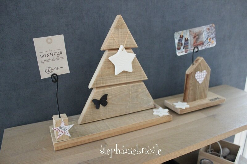 diy r cup petits porte photos en bois de palette. Black Bedroom Furniture Sets. Home Design Ideas