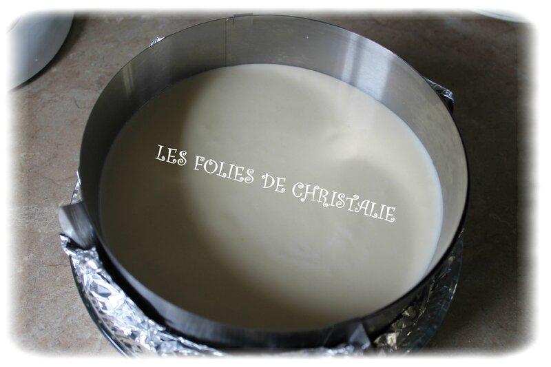 Cheesecake citron cassis les folies de christalie ou for Miroir au cassis