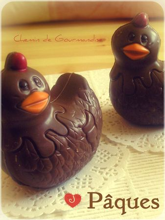 Poulette chocolat