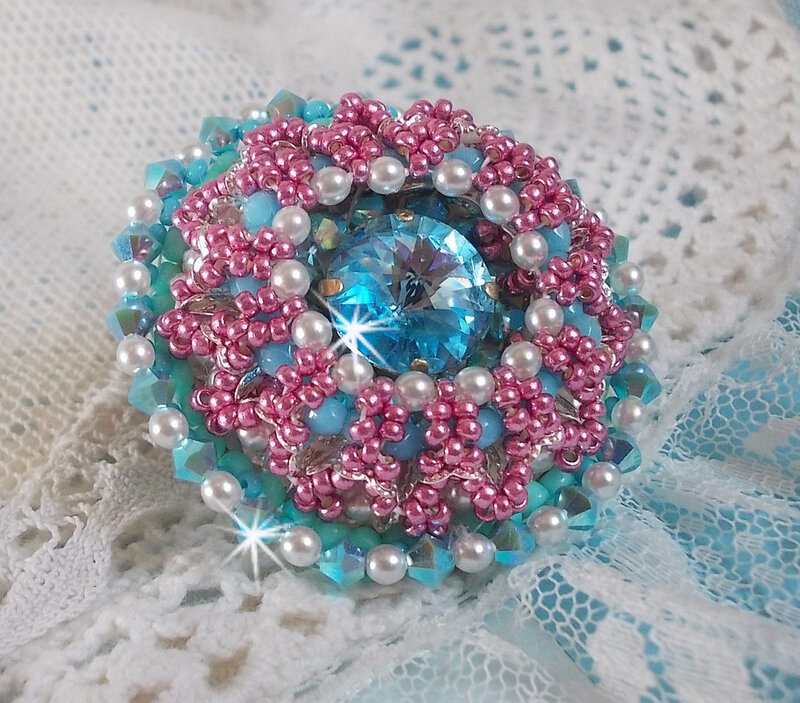 Bague Beauty Alicia Blue 4-1