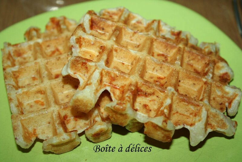 Gaufre-jambon-fromage