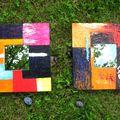 miroirs abstraits les 2