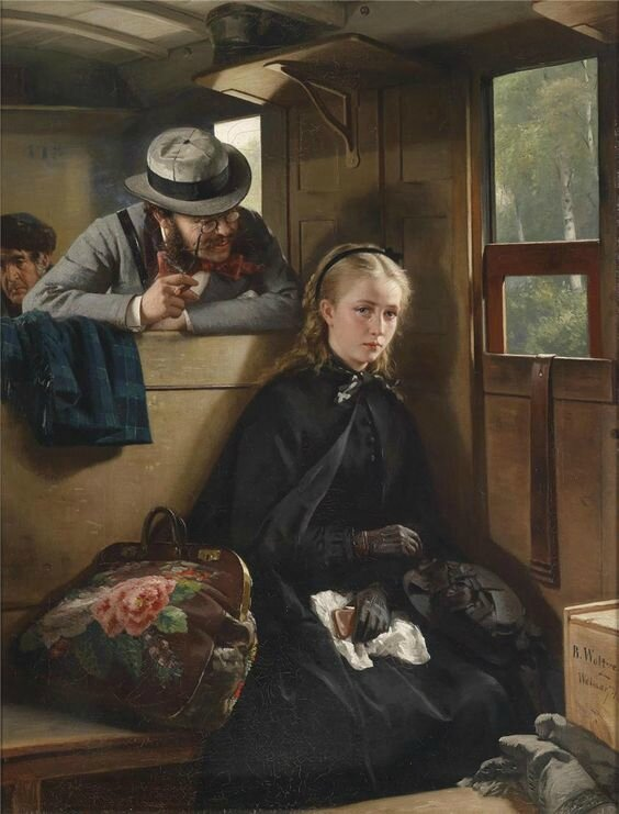 The Irritating Gentleman, Berthold Woltze