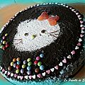 Gateau kitty pour ma fillote
