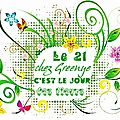  Jour des fleurs : nouvelle rgle 