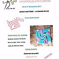 Exposition, montbazon (37) - 18-19 novembre 2017