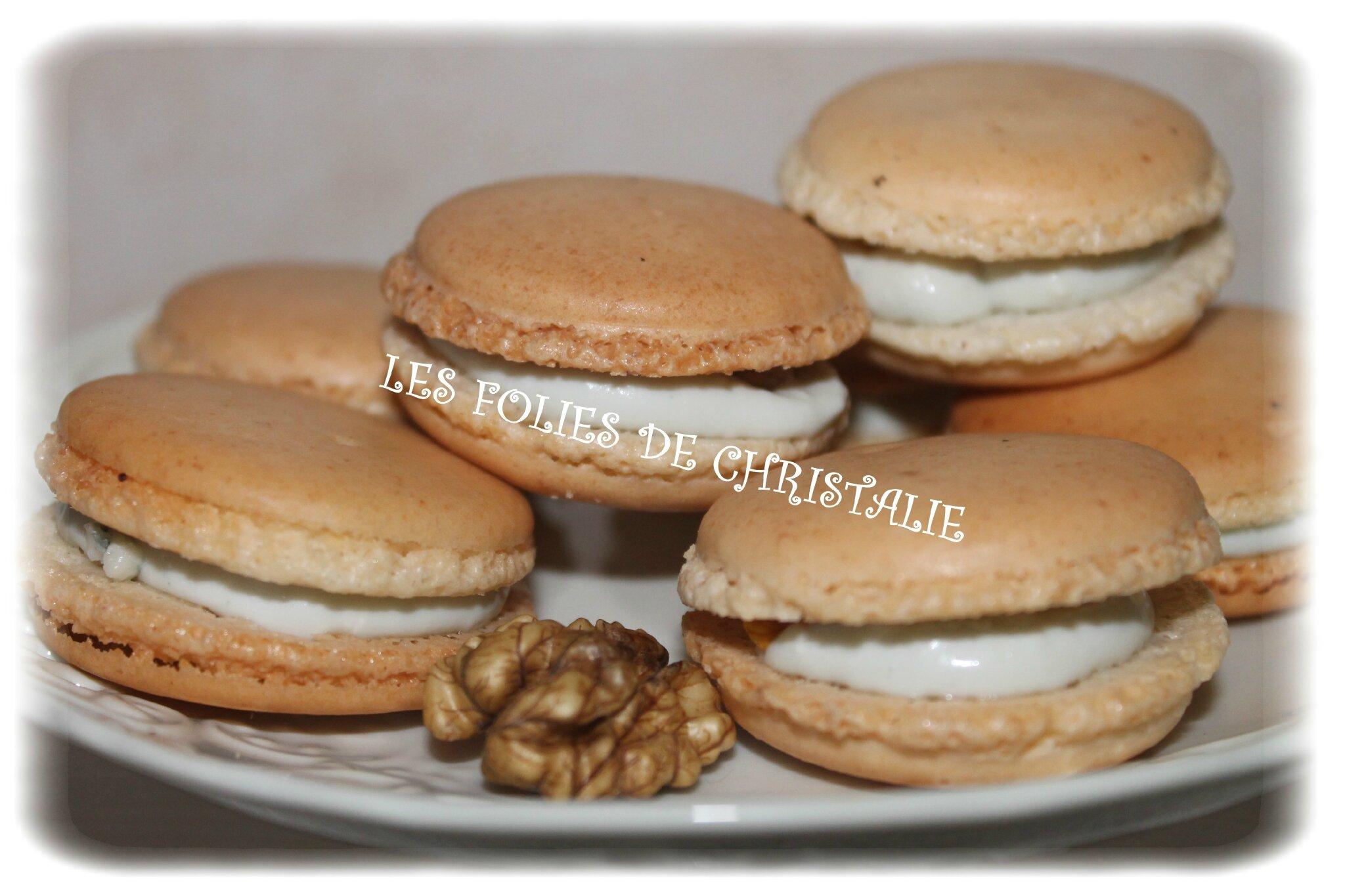 Macarons roquefort noix les folies de christalie ou for Quand ramasser les noix
