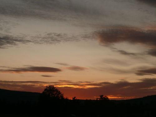 2008 10 04 Le coucher du soleil