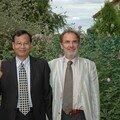 Papa Liao et mon beau-père Alain