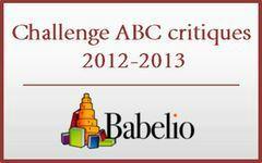 Challenge ABC Babelio