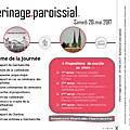 Pelerinage paroissial 2017 : programme et bulletin d'inscription