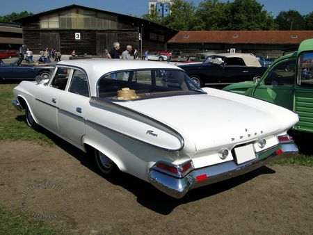 dodge dart pioneer, 1961, osmt zug 2012 4