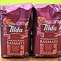 Le riz basmati tilda, un incroyable riz à index glycémique modéré !