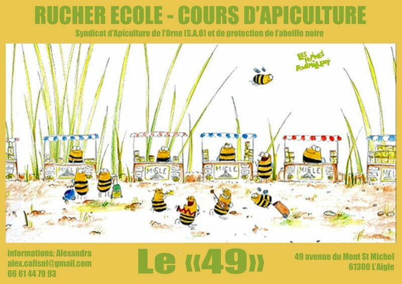 Rucher école affiche copie
