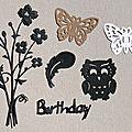 Cartes d'anniversaire reçues (suite)