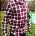 Une chemise de bûcheron