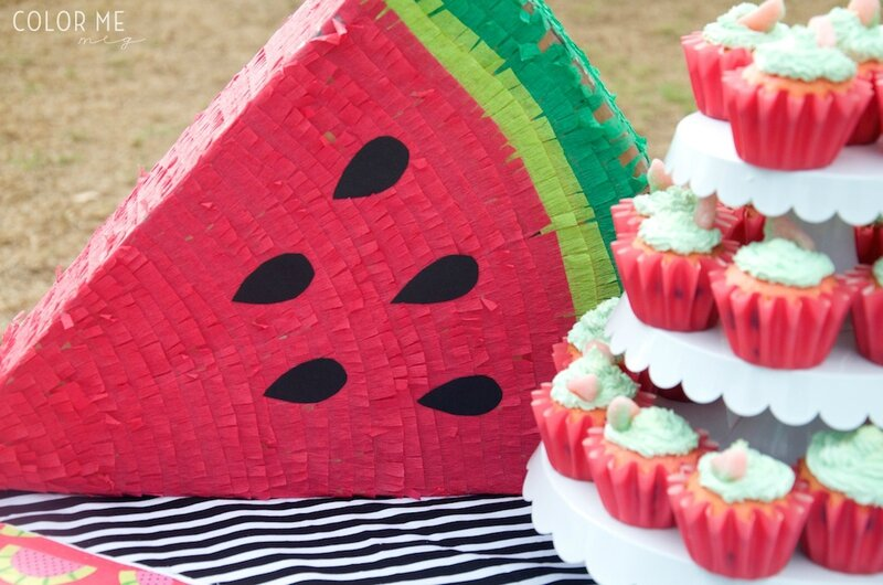 watermelon-piñata-DIY