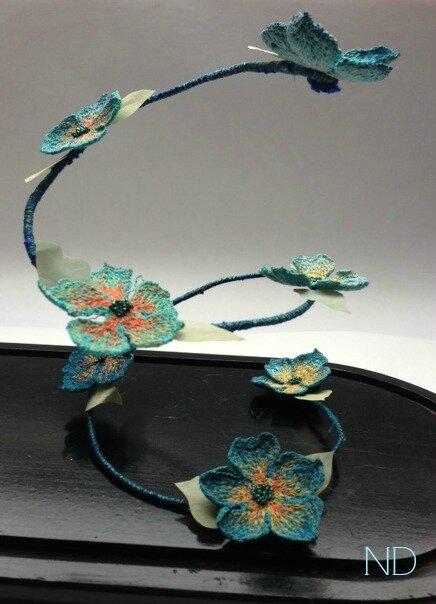 fleur bleu 1003a