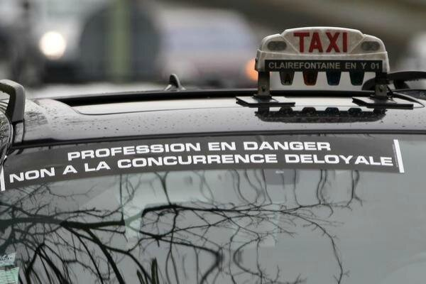 taxi concurence deloyale