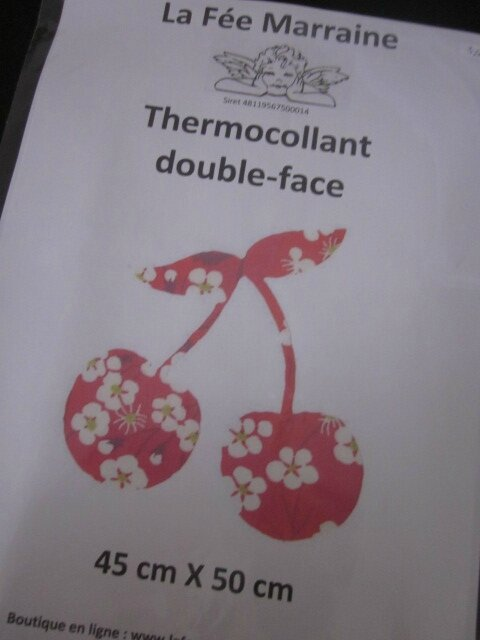 Thermocollant double-face 45 X 50 cm