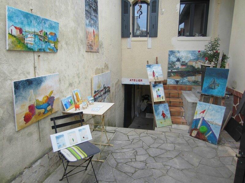 cour maison atelier 1