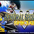 Le jeu de combat « samurai shodown v special » à ne pas manquer !