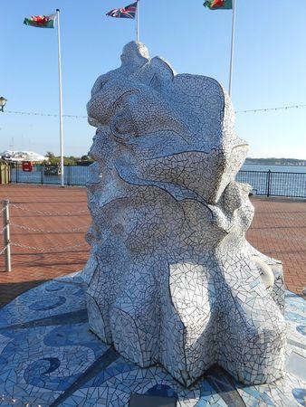 Sculpture pour l'Antarctique