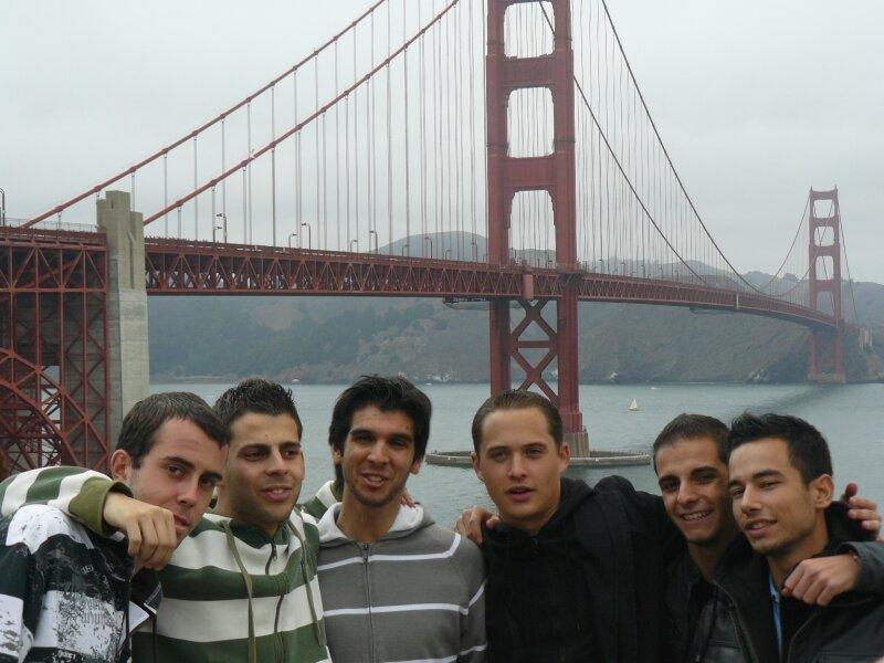 San Francisco : Xavier, Baris, Bruno, Benjamin, Jrémy, mickael