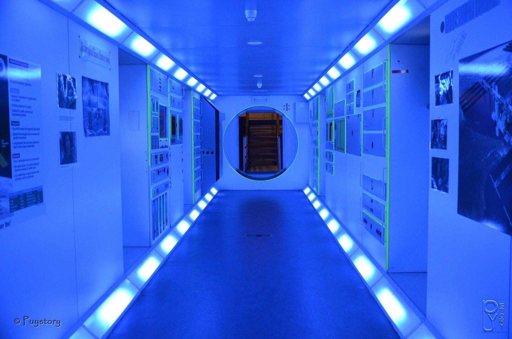 Couloir spatial.