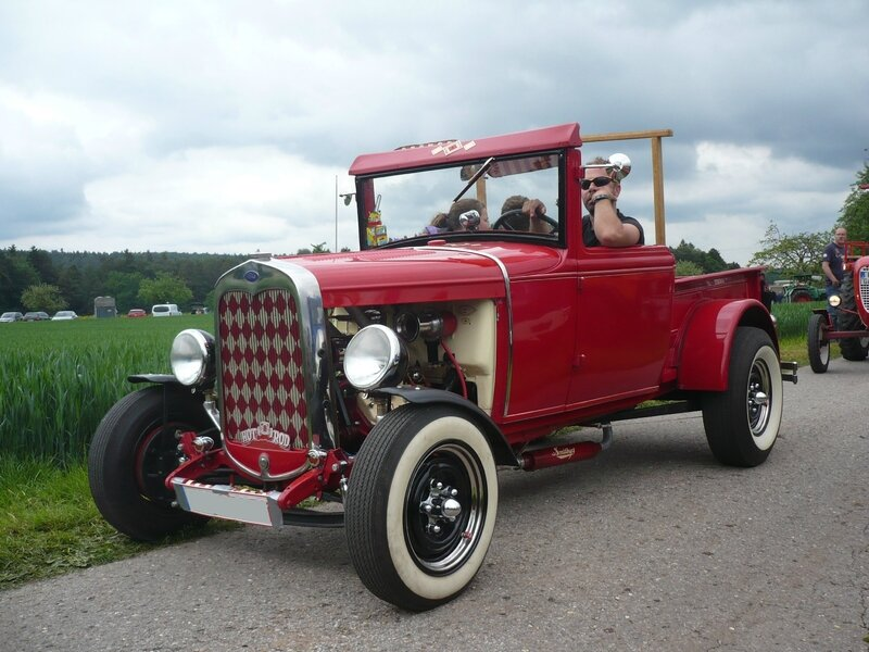 FORD Model A 2door roadster pick-up Hot Rod Bad Teinach - Schmieh (1)